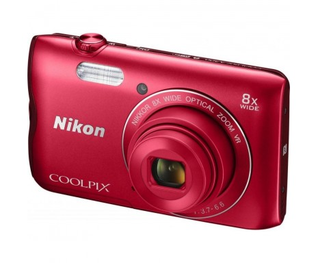 Фотоаппарат Nikon Coolpix A300 Red (VNA963E1)