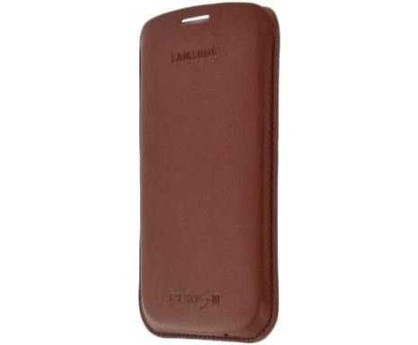 Чехол Samsung EFC-1G6LCECSTD, I9300 dark brown