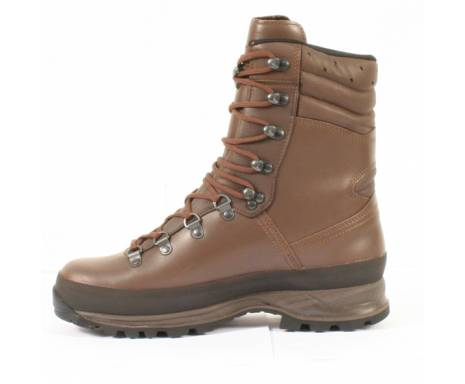 "Ботинки ""LOWA Combat Boot GTX"" - Dark Brown"