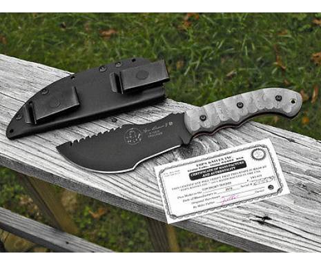 """Нож """"TOPS KNIVES Tom Brown Tracker 1 with RMT handles"""""""