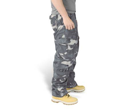 "Брюки ""SURPLUS AIRBORNE VINTAGE TROUSERS"" - Washed night camo"