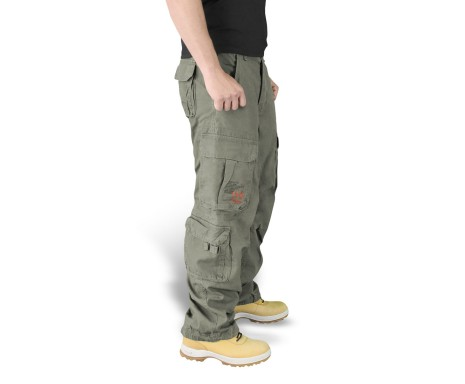 "Брюки ""SURPLUS AIRBORNE VINTAGE TROUSERS"" - Washed olive"