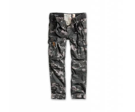 "Брюки ""SURPLUS PREMIUM TROUSERS SLIMMY"" - Black camo"