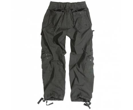 "Брюки ""SURPLUS AIRBORNE VINTAGE TROUSERS"" - Washed black"