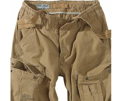 "Брюки ""SURPLUS AIRBORNE VINTAGE TROUSERS"" - Washed beige"