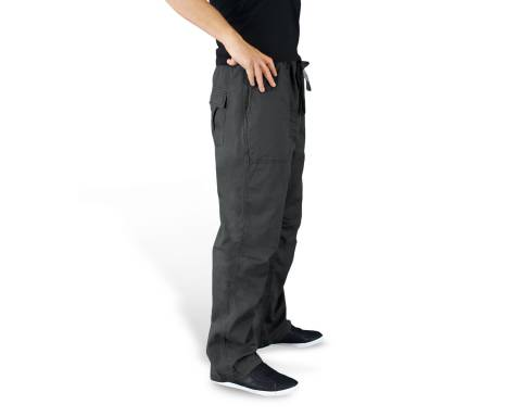 """Брюки """"SURPLUS ATHLETIC TROUSERS"""" - Washed black"""