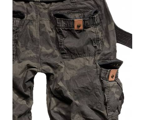 "Брюки ""SURPLUS PREMIUM VINTAGE TROUSERS"" - Washed black camo"
