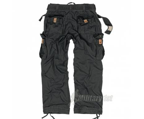 "Брюки ""SURPLUS PREMIUM VINTAGE TROUSERS"" - Washed black"