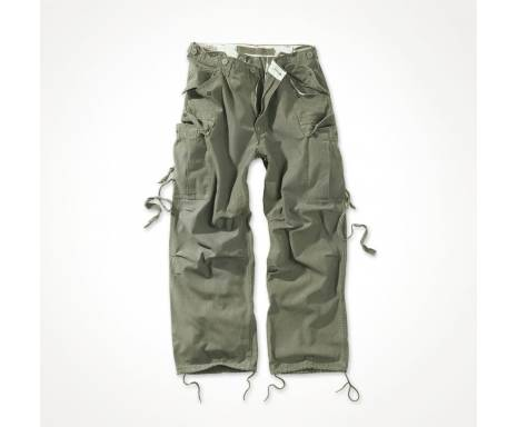 """Брюки """"SURPLUS VINTAGE FATIGUES TROUSERS"""" - Washed olive"""