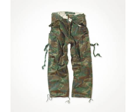 "Брюки ""SURPLUS VINTAGE FATIGUES TROUSERS"" - Washed woodland"