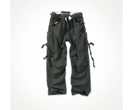 "Брюки ""SURPLUS VINTAGE FATIGUES TROUSERS"" - Washed black"