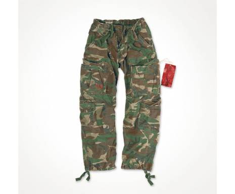 "Брюки ""SURPLUS AIRBORNE VINTAGE TROUSERS"" - Washed woodland"