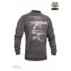 "Свитшот зимний ""WS- M16/AR15"" (Winter Sweatshirt M16/AR15 Rifle Legend)"
