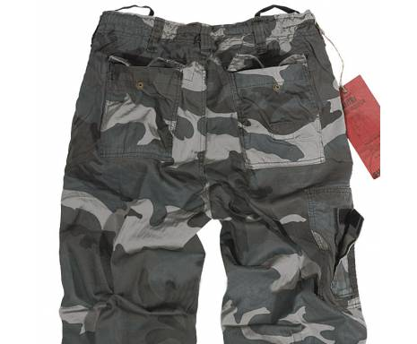 "Брюки ""SURPLUS INFANTRY CARGO"" - Night camo"