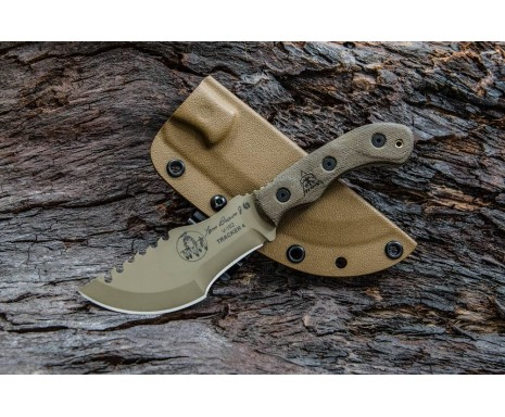 "Нож ""TOPS KNIVES Tom Brown Tracker 4 Coyote Tan"""