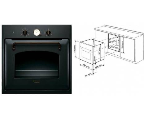 Духовой шкаф Hotpoint-Ariston FT 850.1 (AN)/HA