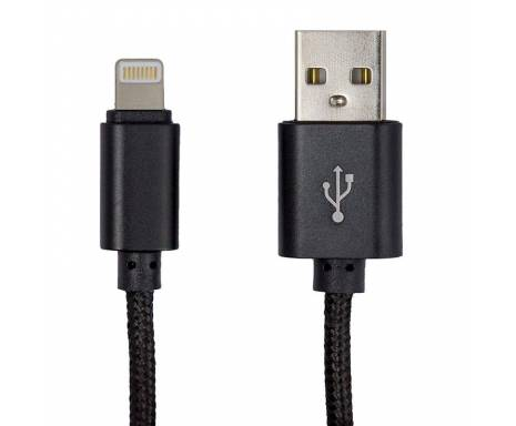 Кабель USB-8 pin GREENWAVE DC-IP-152NR black