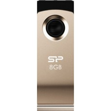 USB Flash 8Gb Silicon Power Touch 825 Champagne