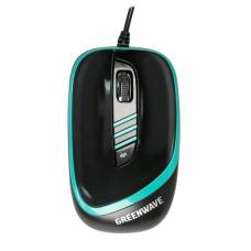 Мышь Greenwave Gatwick USB Black-Green